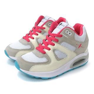 eclair時尚潮流真皮氣墊增高鞋