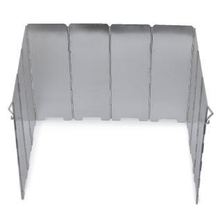 【DIBOTE迪伯特】輕量鋁合金10片擋風板(附收納袋)