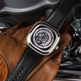 【SEVENFRIDAY】P1 解構世界自動上鍊機械錶-銀x黑(P1B)