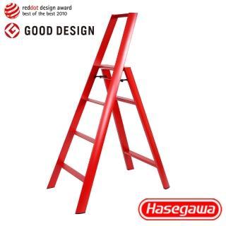 【長谷川Hasegawa設計好梯Lucano設計傢俱梯】4階108cm紅色(ML系列ML-4RD)
