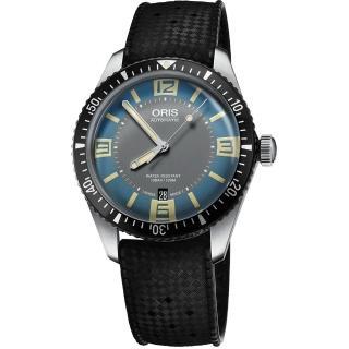 【ORIS】DiversSixty-Five復刻潛水機械錶(0173377074065-0742018)