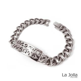 【La Jolla】秘密 純鈦手鍊(兩色)