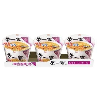 【來一客】韓式泡菜風味3入/組(韓式風味泡菜 鮮甜酸爽 微帶辣味 胃口大開)