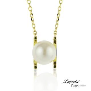 【大東山珠寶】雪白之星 純銀珍珠項鍊(時尚珍珠)