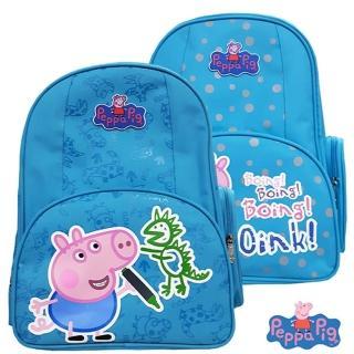 【imitu 米圖】Peppa Pig 粉紅豬/佩佩豬佩佩豬-喬治護脊書包3 2C