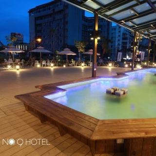 【宜蘭 礁溪9號溫泉旅店】2人玩客客房泡湯1.5小時+下午茶+溫泉魚泡腳
