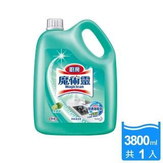 【魔術靈】廚房清潔劑 桶裝(3800ml)
