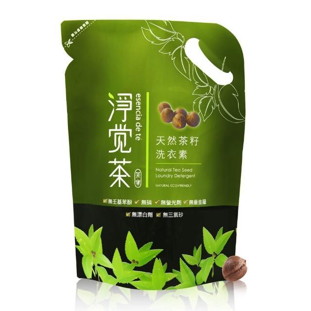 【茶寶】茶籽洗衣素/補充包(1.8kgx12包/特惠組)/