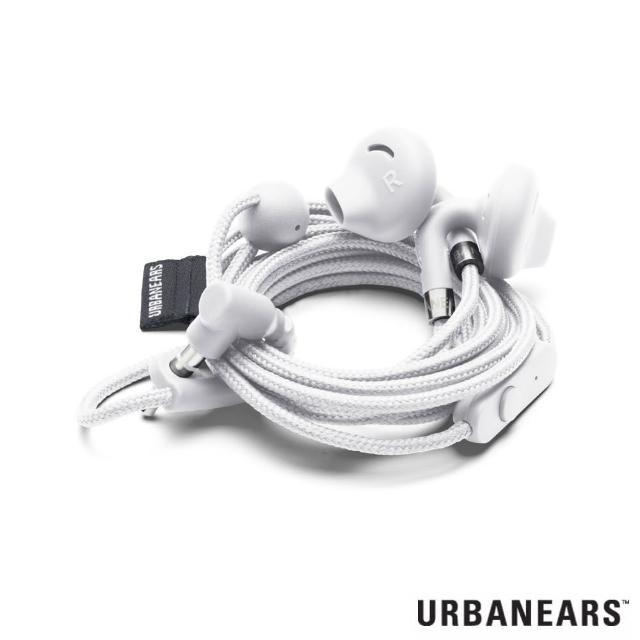 【Urbanears】瑞典設計 Sumpan系列耳塞式耳機(羽翼白)