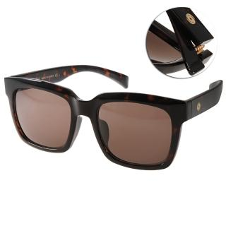 【Go-Getter太陽眼鏡】時尚方框款(棕-深邃琥珀#GS4007 C05)