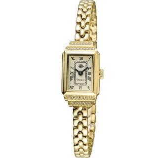 【玫瑰錶 Rosemont】骨董風玫瑰系列時尚鍊錶(TRS015-07)