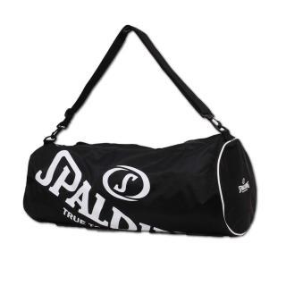 【SPALDING】三顆裝球袋-斯伯丁 籃球 側背包 手提袋 收納袋 行李袋 黑白(SPB5314N00)