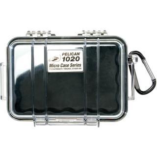 【美國 PELICAN】1020 氣密箱 防水盒(黑色透明盒)