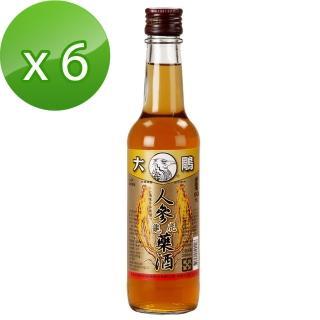 【大鵰】人參龜鹿藥酒300ml*6(乙類成藥)