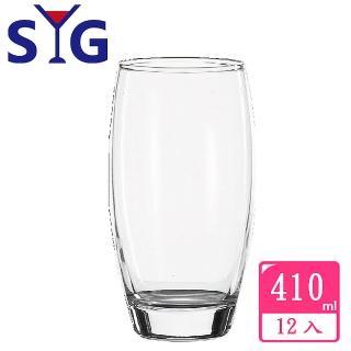 【SYG】玻璃果汁圓杯410cc(12入組)