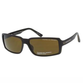 【Porsche Design保時捷】-太陽眼鏡(深咖啡色)