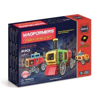 【MAGFORMERS】磁性建構片-動力運輸組(2016新品上市)