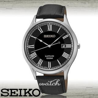 【SEIKO 精工】超人氣經典錶款_石英_皮革男錶(SGEG99P1)