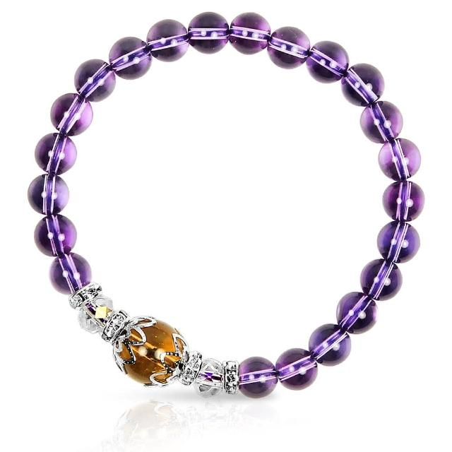 【A1寶石★十二星座】星座誕生石-晶鑽紫水晶白水晶黃水晶-幸運石(含開光)