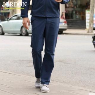 【JORDON橋登】男款春秋休閒商務新品 防撥水透氣軟殼休閒功能性長褲(P529)