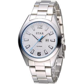 【STAR 時代】永恆時光紳士腕錶(9T1602-231S-W)