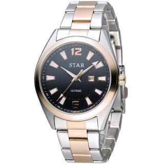 【STAR 時代】永恆時光紳士腕錶(9T1602-231RG-D)