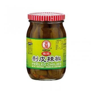 【金蘭】剝皮辣椒450g