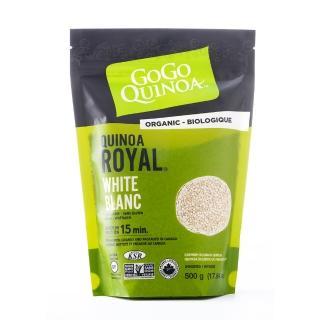【GoGo Quinoa】有機白藜麥500g(低GI、無麩質、全素)