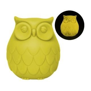 【Dreams】Owl 聰明貓頭鷹LED感應夜燈(黃)