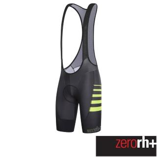 【ZeroRH+】義大利專業DRYSKIN AIRX長距離型吊帶自行車褲(黑、白 ECU0316)