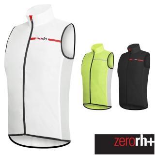【ZeroRH+】義大利WIND SHELL專業背心風衣(黑色、白色、螢光黃 SSCU377)