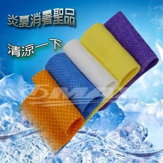 【12H】PVA仿麂皮瞬間涼感領巾4入組合包-顏色隨機出貨(99x14cm-1入+方巾3入)/