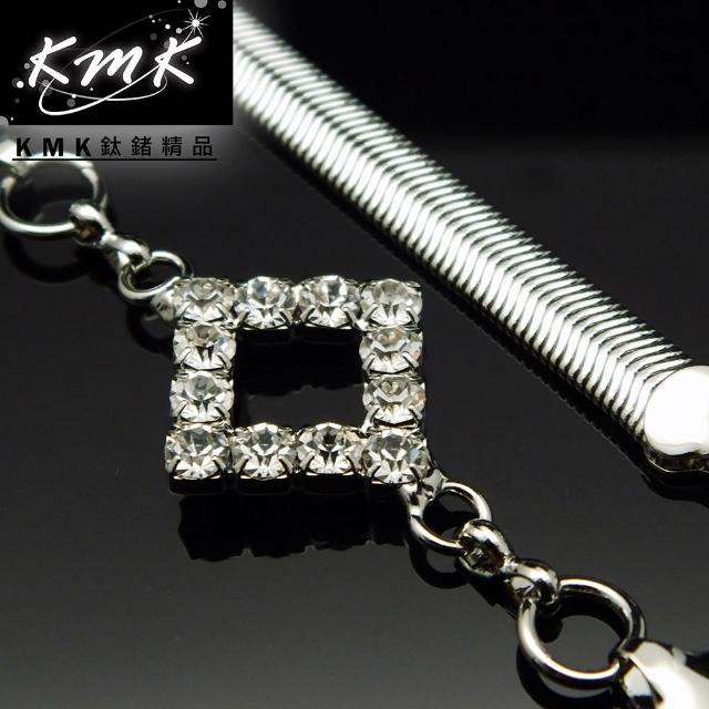 【KMK鈦鍺精品】《個性主義-菱形》(多功能腰鍊、項鍊、配飾)