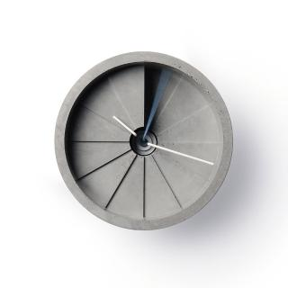 【22】四度空間水泥掛鐘-藍-4th-Dimension-Wall-Clock/150mm(22-CC01000)