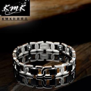【KMK鈦鍺精品】品味(純鈦+磁鍺健康手鍊)