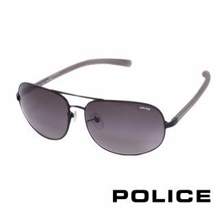 【POLICE】都會時尚太陽眼鏡(時尚金 POS8698-0531)