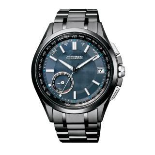 【CITIZEN】GPS衛星對時光動能鈦腕錶(藍/CC3015-57L)