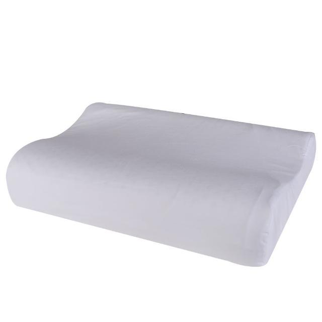 【HOLA】馬來西亞天然乳膠枕曲線型H13CM(H13cm)/