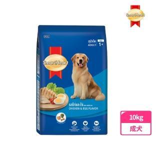 【SmartHeart】慧心犬糧 - 雞肉+雞蛋口味成犬配方(10KG)
