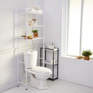 【H&R安室家】省空間多功能馬桶置物架