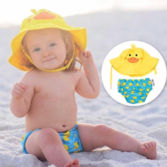 【美國ZOOCCHiNi】可愛動物泳裝套組(小鴨)網友推薦