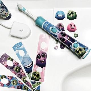 【Philips 飛利浦】Sonicare 新一代兒童音波震動牙刷/電動牙刷(HX6322)