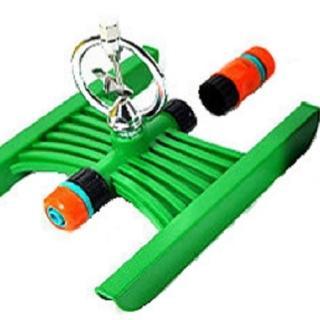 【灑水達人】六分末端鐵環旋轉式噴頭腳架組合套裝2入