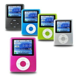 【DW】B1821蘋果三代 插卡式MP4隨身聽 加16GB記憶卡(加送6大好禮)