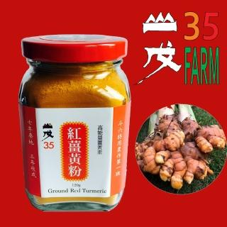 【台灣山戊35】能量紅薑黃粉120g(SGS合格)