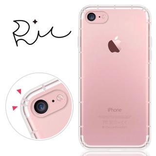 【RedMoon】APPLE iPhone7 / iPhone8 4.7吋 防摔氣墊透明TPU手機軟殼(i7 / i8)