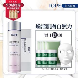 【IOPE 艾諾碧】青春活顏菁粹168ml組(全新升級版)