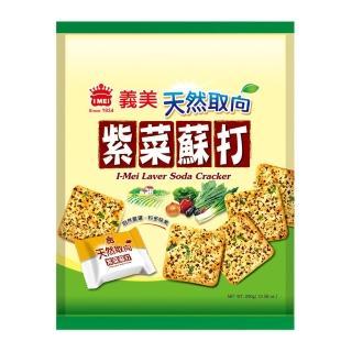 【義美】天然取向紫菜蘇打餅(300公克)