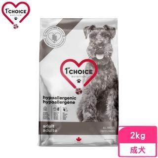 【1stChoice 瑪丁】第一優鮮犬糧《成犬無穀-鴨肉+馬鈴薯配方》2.72kg(贈 外出試吃包*2)