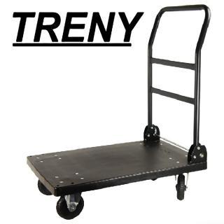 【TRENY】台製塑鋼手推車-重型-300kg .(4939)